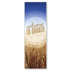 Season Welcome Wheat Banner
