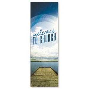 Season Welcome Lake Banners