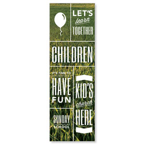 Phrases Children 2' x 6' Banner