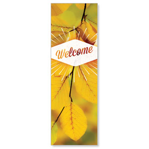 Welcome Burst 2' x 6' Banner