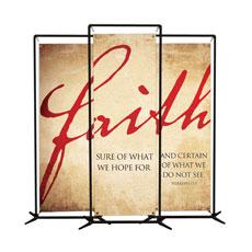 Faith Triptych Banner