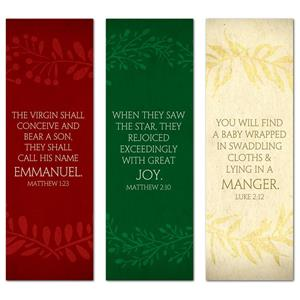 Glad Tidings Triptych 2' x 6' Banner