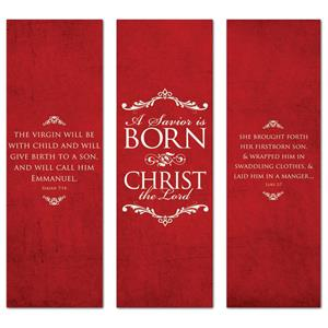 Savior Is Born  2' x 6' Banner
