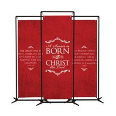 Savior Is Born Banner