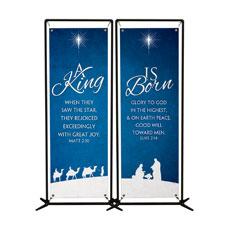 Christmas Blue Banner