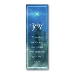 Christmas of Joy 2' x 6' Banner