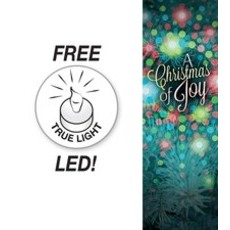 Christmas of Joy Lights Banner