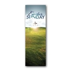 Easter Hillside Banner
