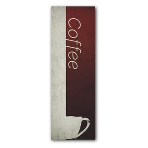 Color Block Coffee 2' x 6' Banner