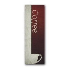 Color Block Coffee Banner