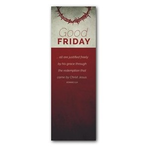 Color Block Good Friday 2' x 6' Banner