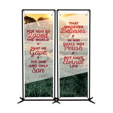 Whoever Believes Pair Banner