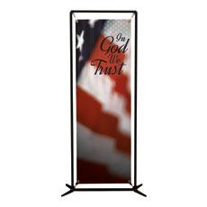 God We Trust Banner
