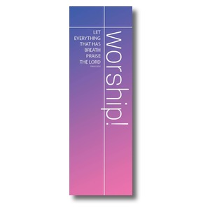 Color Wash Worship Banners