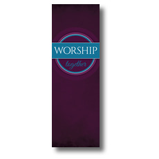 Together Circles Worship Banner