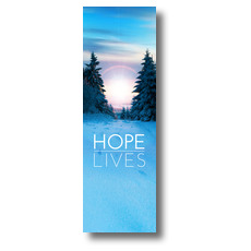 Hope Lives Banner
