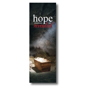 Hope Revealed Manger 2' x 6' Banner