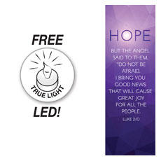 Advent Luke 2 Hope Banner