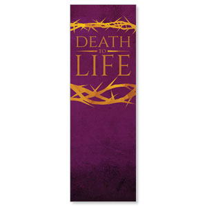 Death to Life Purple Banners