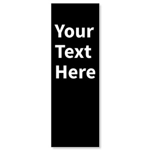 Your Text Here White Banners