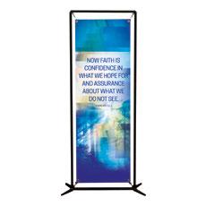 Modern Mosaic Heb 11:1 Banner