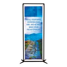 Modern Mosaic Prov 3:6 Banner