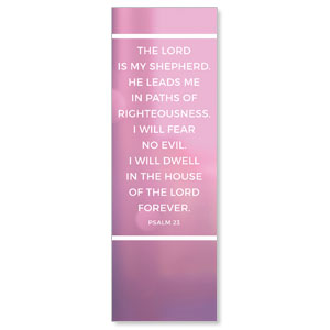 Shimmer Psalm 23 Banners