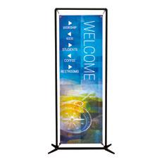 Modern Mosaic Directional Banner