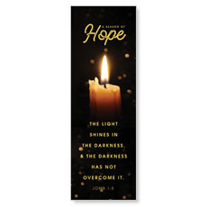 Hope Candle Banner