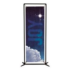 Joy Clouds Banner