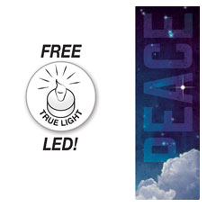 Peace Clouds Banner