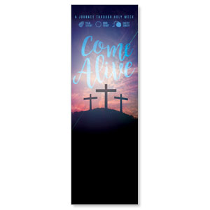 Come Alive Easter Journey 2' x 6' Banner