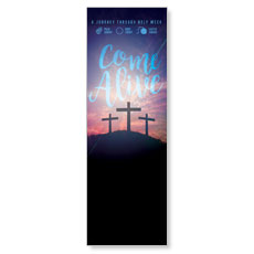 Come Alive Easter Journey Banner