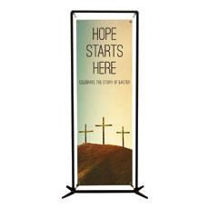 Hope Starts Here Calvary Banner