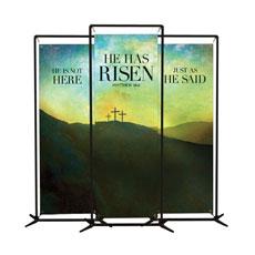 He Has Risen Matt 28:6 Banner
