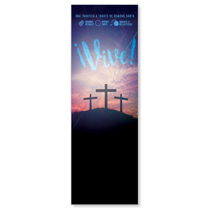 Come Alive Easter Journey Spanish 2' x 6' Banner