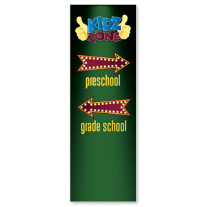 Marquee Directional 2' x 6' Banner