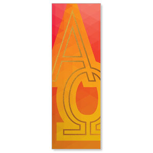 Bold Iconography Alpha Omega Banners