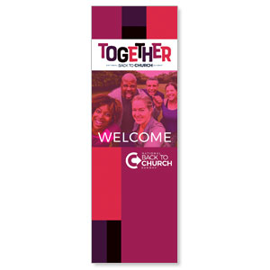 BTCS Together 2' x 6' Banner