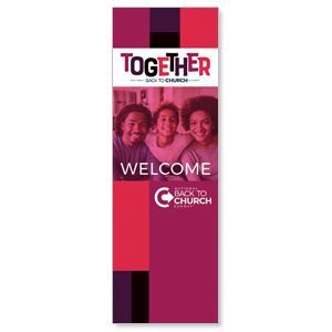 BTCS Together AFA 2' x 6' Banner