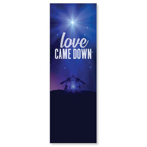 Aurora Lights Christmas 2' x 6' Banner
