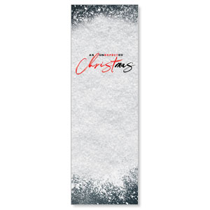 Unexpected Christmas 2' x 6' Banner