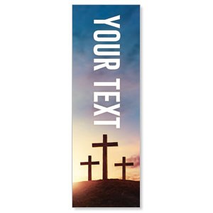 Easter Hope Outline Your Text 2' x 6' Banner