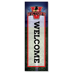 Go Fish Victory Welcome 2' x 6' Banner