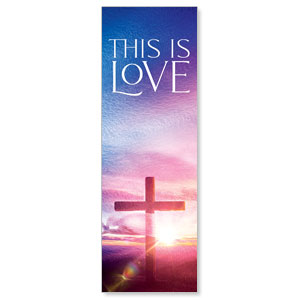 Love Easter Colors 2' x 6' Banner