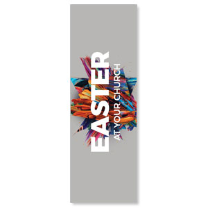 CMU Easter Invite 2021 Grey 2' x 6' Banner
