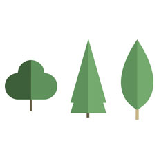 Woodland Friends Tree Set 1