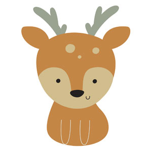 Woodland Friends Deer Banners