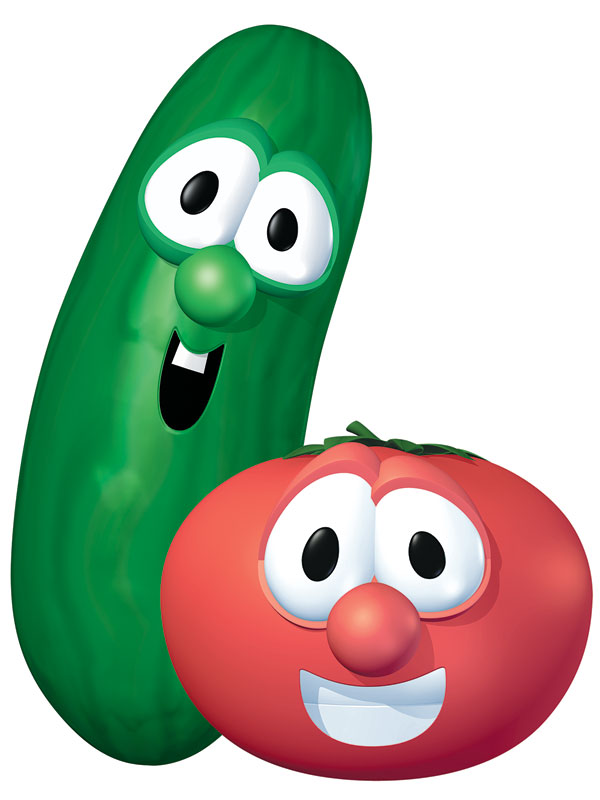 Veggietales Bob And Larry Banner Church Banners