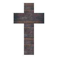 Dark Wood Cross